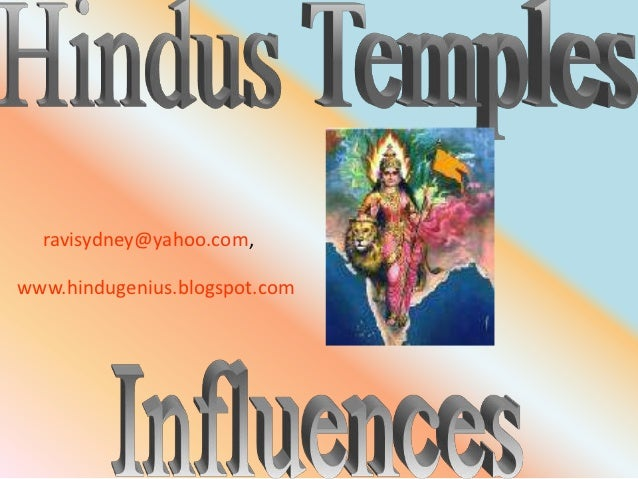 Hindu Temples in South East Asia