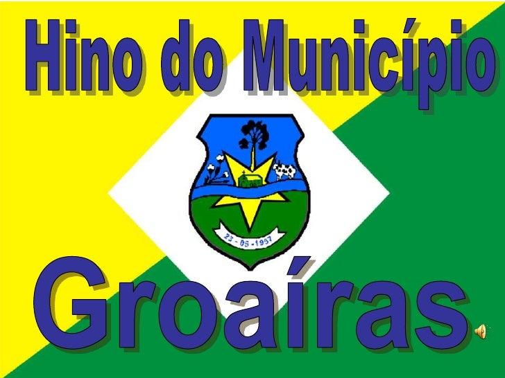 Hino do município de Groaíras