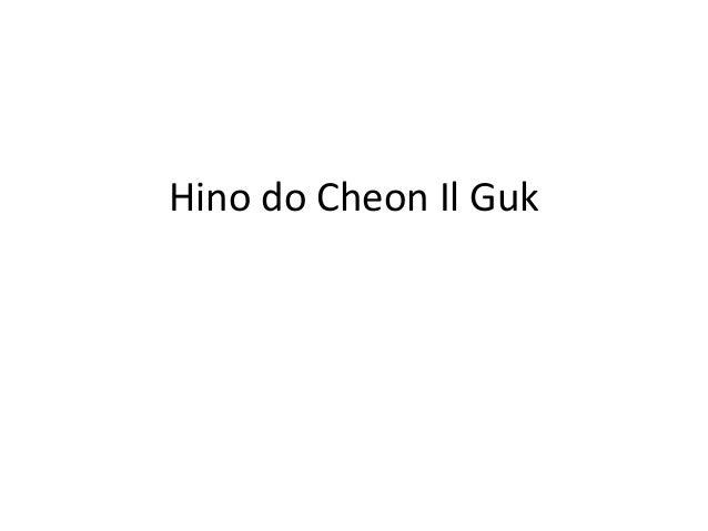 Hino nacional do cheon il guk
