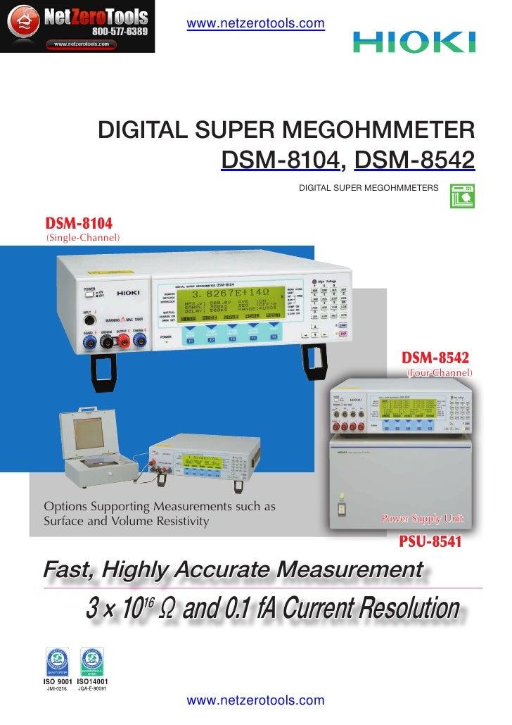 Hioki DSM 8542