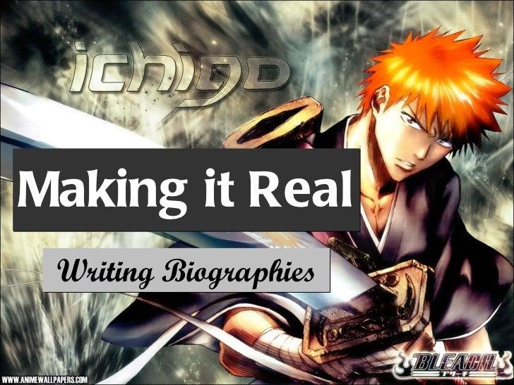 biography writing