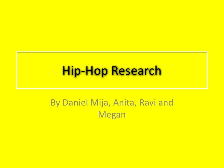 hip hop research An introduction william eric perkins afro i was rappin' 50 years ago, my rap lyrics were a lot more dirty than those in my songs and i did the moonwalk 50 years ago cab calloway to the author, september 1991 hip hop is the one music form that can change, because it thrives on other mu.