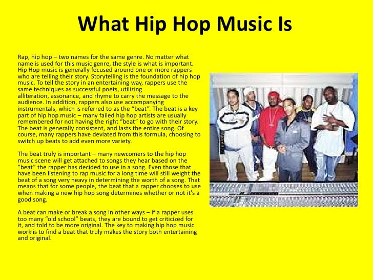 Research papers on hip hop