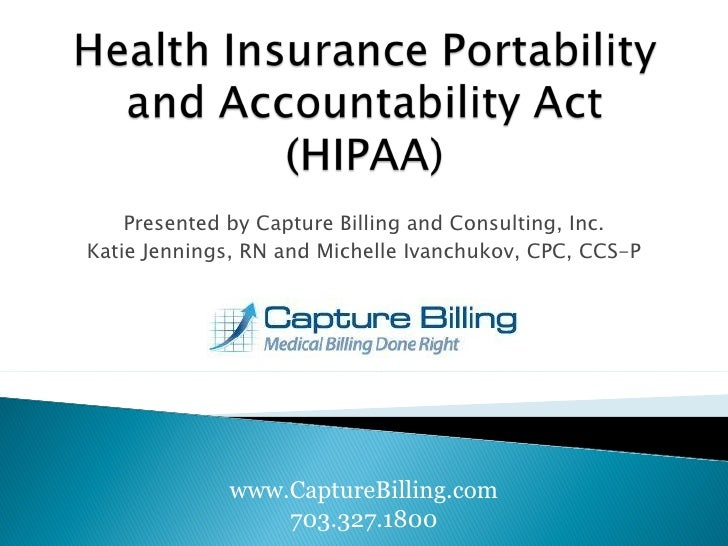 Presented by Capture Billing and Consulting, Inc. Katie Jennings, RN and Michelle Ivanchukov, CPC, CCS-P www.CaptureBillin...