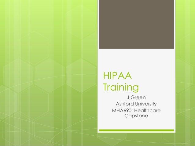 Hipaa training