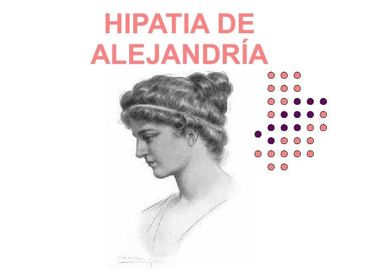HIPATIA DEALEJANDRÍA