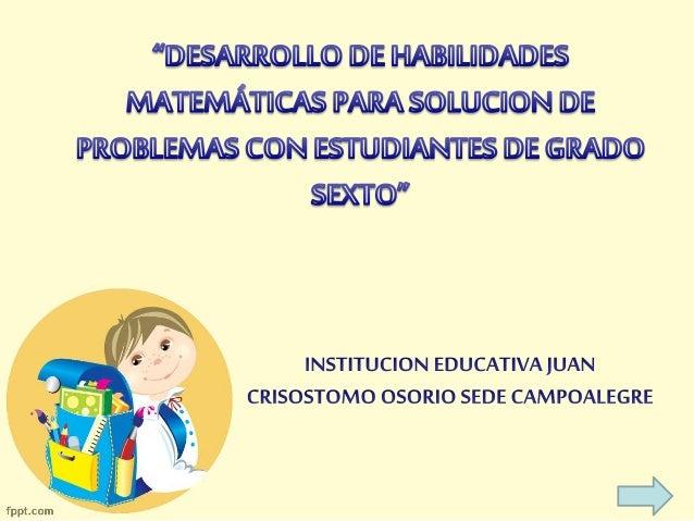 • ¿Qué es una situación problema? • Problemas matemáticos y las operaciones para resolverlos • Video • Ejercicios práctico...