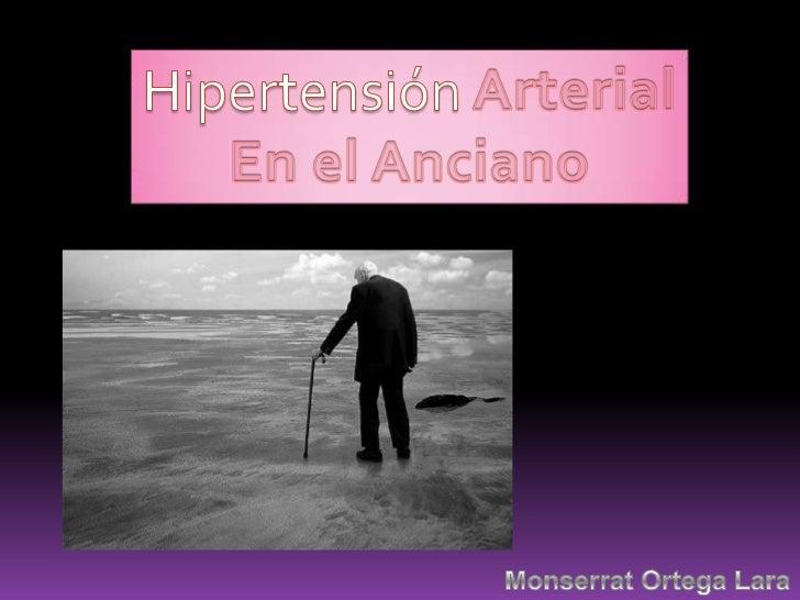 Hipertensión arterial en el anciano.mony