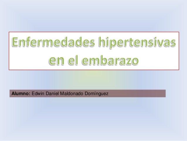 Problemas Hipertensivos en el Embarazo