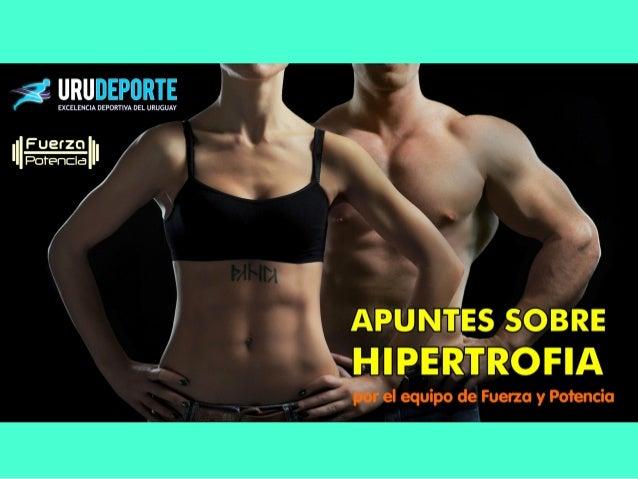Índice de Hipertrofia = Tonelaje/Tiempo Coeficiente de Hipertrofia = Tonelaje /Tiempo2