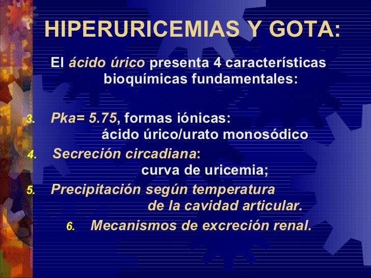Hiperuricemias Y Gota