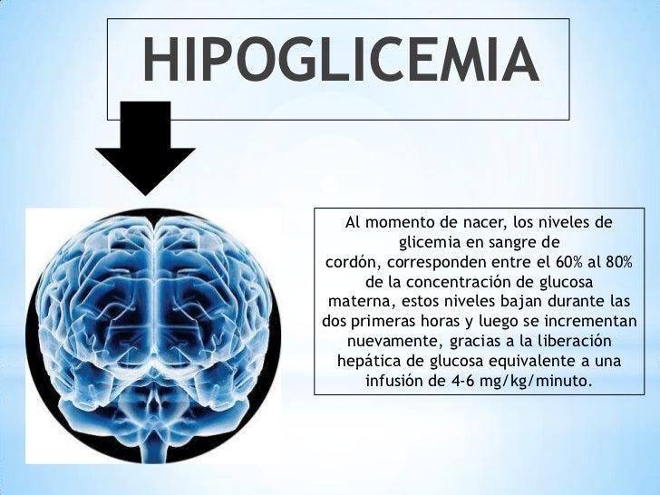 Hipoglicemia del recien nacido
