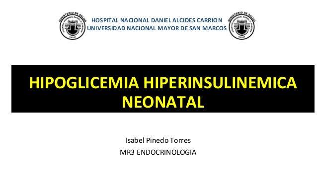 Hipoglicemia hiperinsulinemica