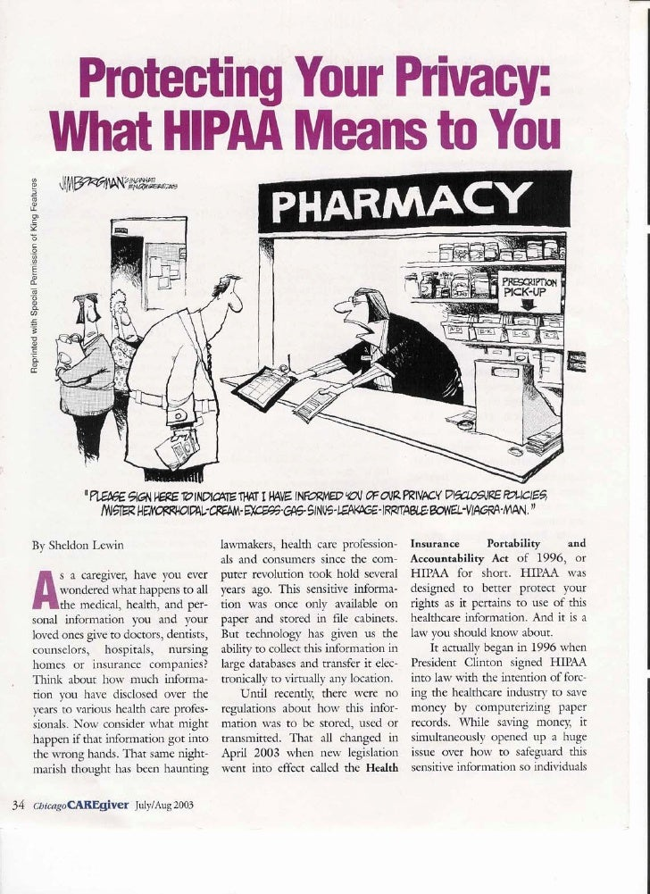 Hippa Article Pg #1