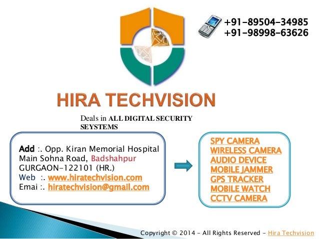 SPY CAMERA IN GURGAON, DELHI, NCR, SOHNA ROAD, BADSHAHPUR, GPS TRACKER, CCTV CAMERA