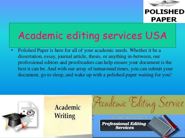 academic essay editing service - The Best Writing, Editing, and ...