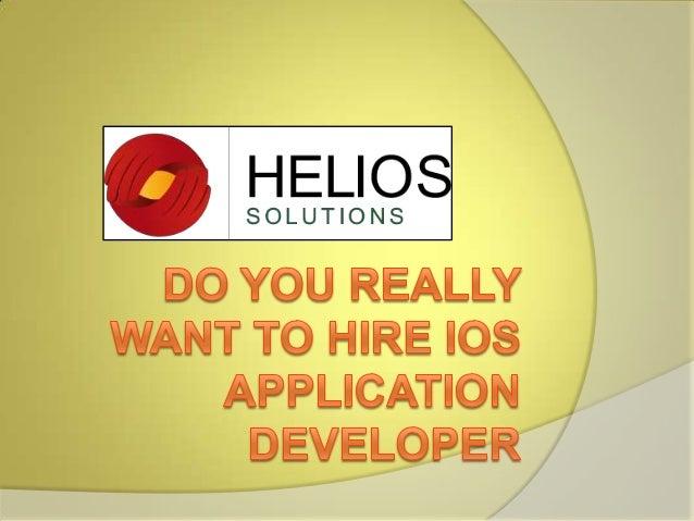 Hire i os application developer