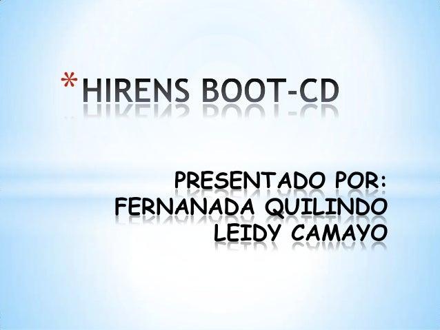 Hirens boot cd2