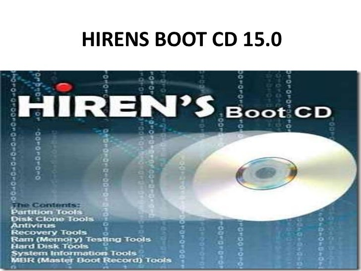 HIRENS BOOT CD 15.0