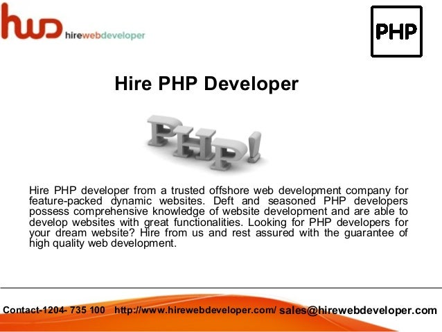 hire developer Hire the world's best software developers at a fraction of the cost on freelancercom - getting started is free - receive quotes in seconds - post a project now.
