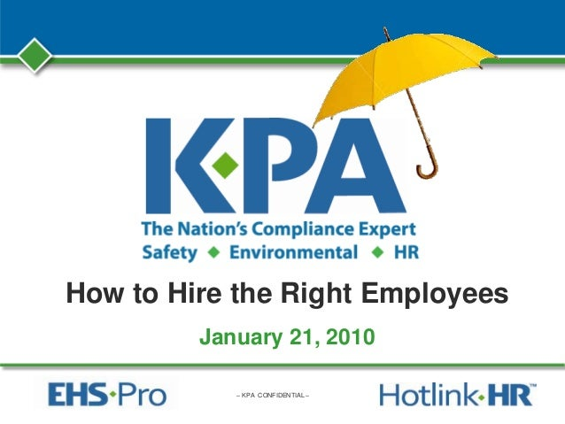 How to Hire the Right Employees