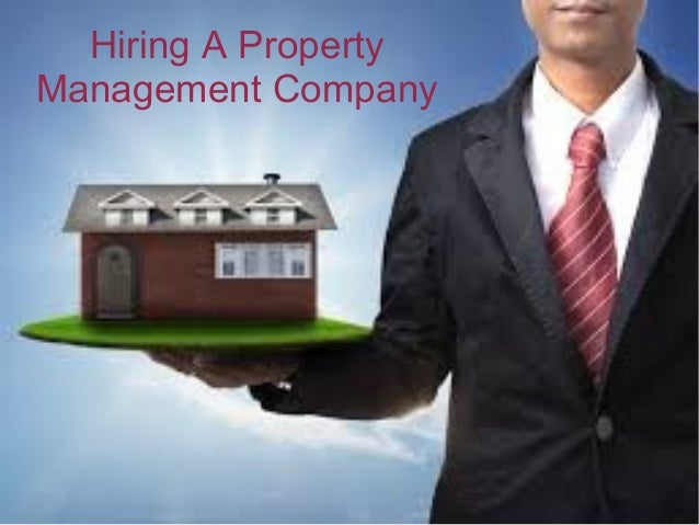 Hiring A Property Management Company