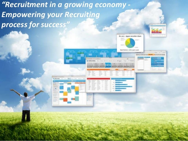 """""""Recruitment in a growing economy -Empowering your Recruitingprocess for success""""                                      1"""