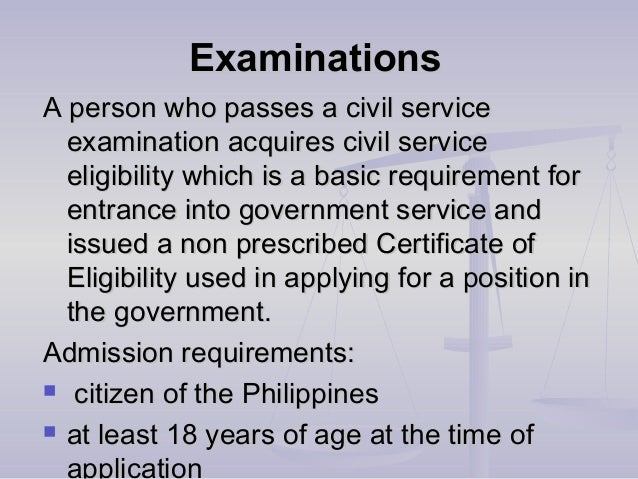 How hard is the Civil Service Exam?
