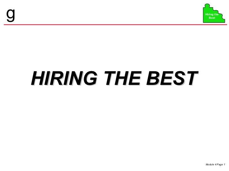Hiring the best tab 4 0403