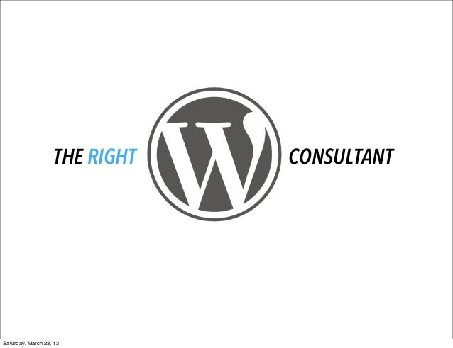 Hiring the Right WordPress Consultant