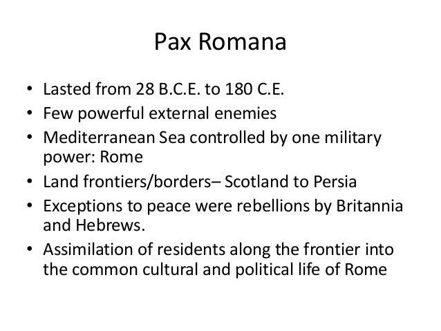 ancient rome development pax romana - photo#36