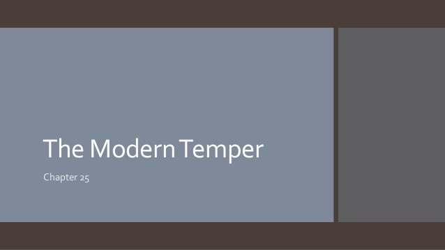 The ModernTemper Chapter 25