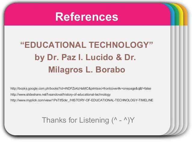 history of educational technology