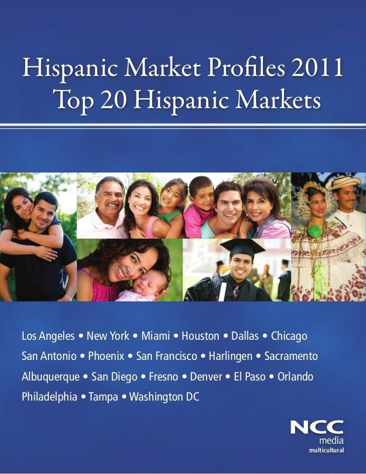 Hispanic market profiles 2011