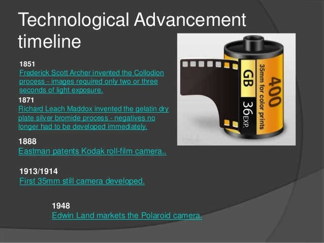 Technology Advances Timeline Technological Advancement