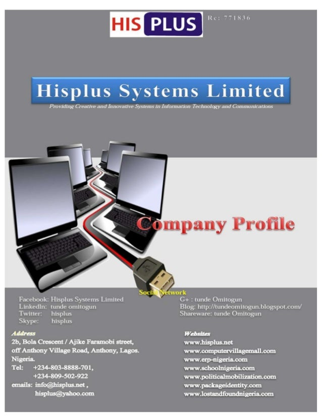 Hisplus systems limited company profile