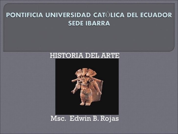 Hist. del arte