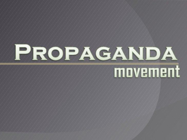 Propaganda Movement (Pedro Paterno)
