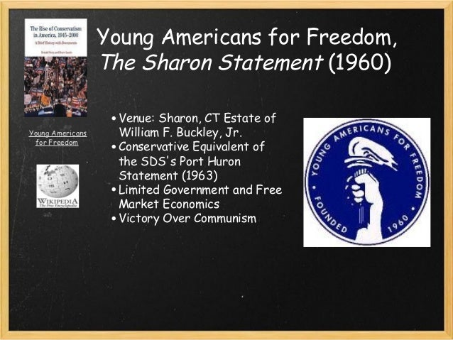 freedom sharon and port hurom statement The port huron statement 1 at its first meeting in port huron, michigan and freedom and our abilities to visualize their application to a world in.