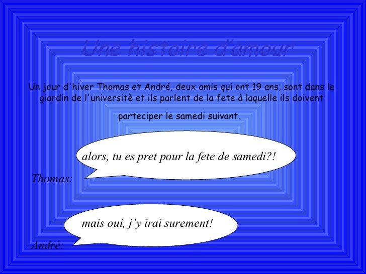 Histoire d'amour Tommy Alice E Giorgia