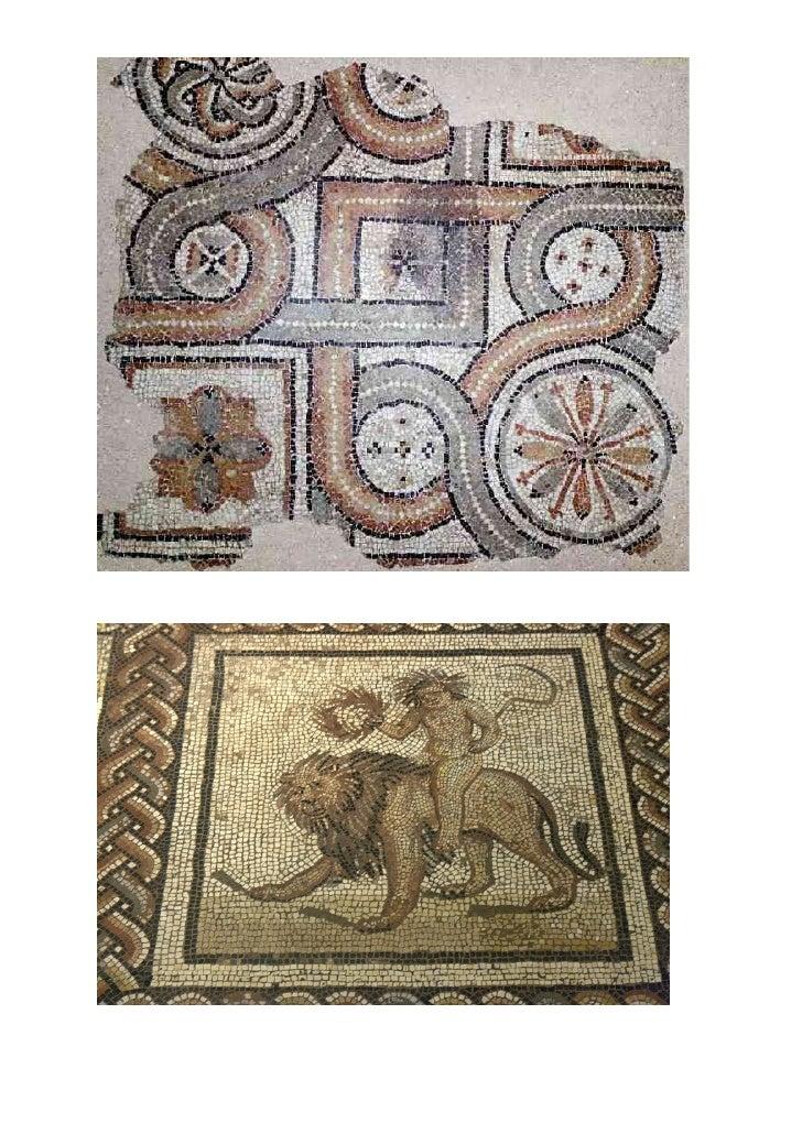 Histoire de l'art mosaïques romaines
