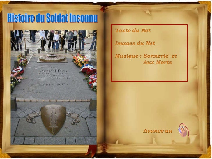 1 Histoire du Soldat Inconnu