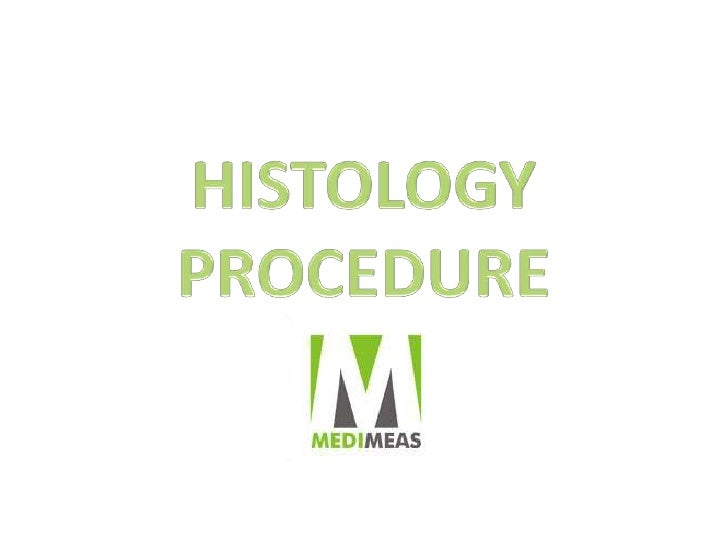 HISTOLOGY PROCEDURE<br />