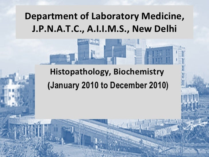 Histopathology audit (JPNATC) 2010
