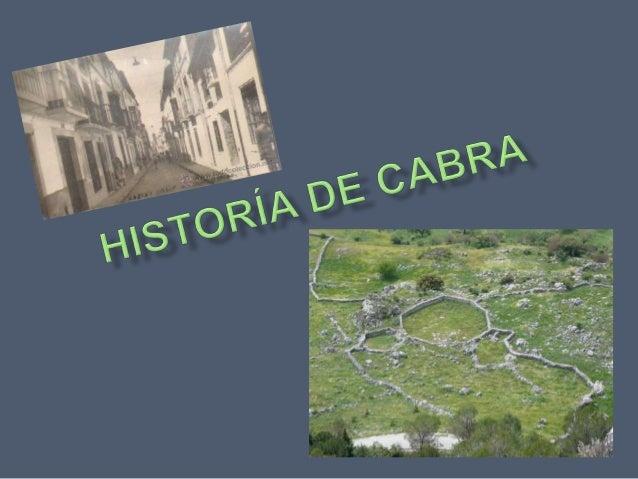 Historía cabra