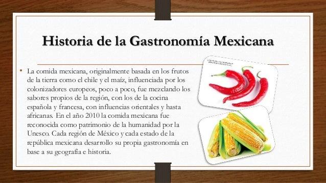 Historia de la gastronom a mexicana for Historia de la gastronomia pdf