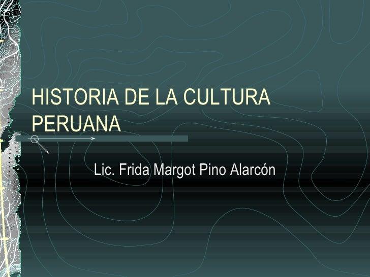 Historia De La Cultura Peruana1