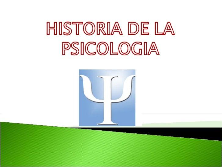 historia clinica de psicologia: