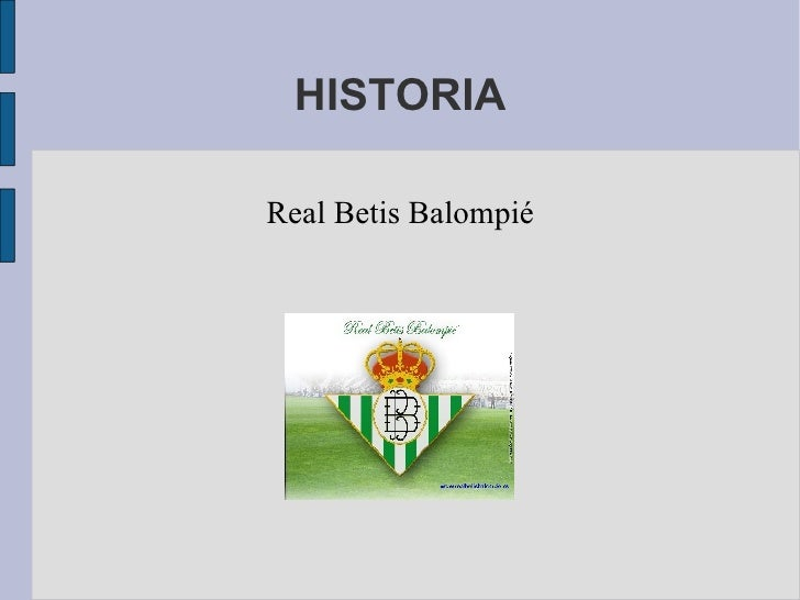 Historia del Betis. Parte I