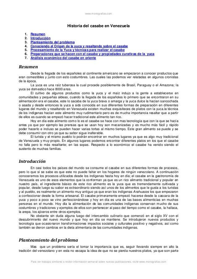 Historia del-casabe-venezuela